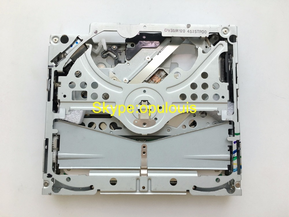 Cargador de un solo mecanismo de navegación y dvd DV35M120 DV33M12A para Toyota Lexus B9001 86120-42100 Chrysler dvd NAVaudio