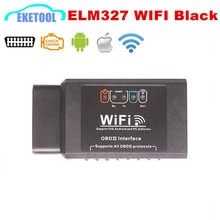 ELM327 WIFI Schwarz PIC18F25K80 Auto Diagnose Drahtlose ULME 327 Schnittstelle Hardware V1.5 Für iOS iPhone iPad Android Windows