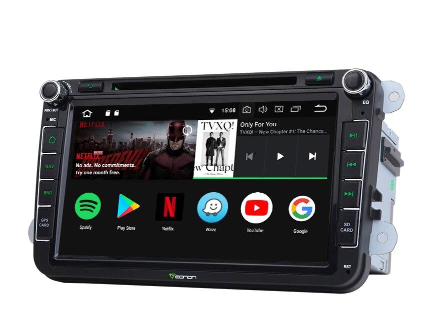 """8 """"Android 8,0 Oreo OS DVD del coche GPS Multimedia Radio para Seat Altea 2004-2015 y Leon (MK2) 2004-2013 y La Alhambra 2010-2016"""