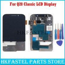 3.5 pouces pour Blackberry Classic Q20 téléphone portable nouveau Original LCD écran tactile fer support cadre numériseur assemblée