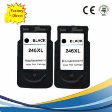 PG245 PG245XL PG-245XL PG-245 PG 245 XL 245XL Ink Cartridges Remanufactured   Pixma IP 2820 MX 492 MG 2520 2924 2920