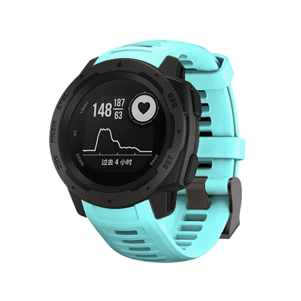 Replacement Band Silicone Smart Watchband For Garmin instinct 22mm Smart Watch Band Strap for Garmin instinct 22mm