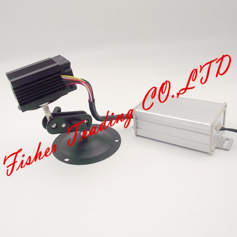 جهاز إرسال ليزر أخضر لغرفة الليزر الدعائم الهروب ، 12VDC ، قطع الغيار لمتاهة الليزر أو القيثارة الليزر