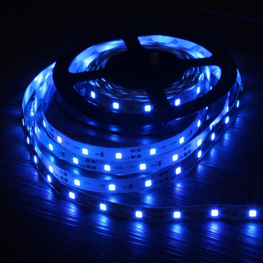 led strip 2835 smd 240leds m 5m 300 600 1200 leds dc12v high bright flexible led rope ribbon tape light warm white cold white 5M 2835 RGB LED Strip Light 300 LEDs DC 12V Red Green Blue Warm White Cool White Flexible SMD 2835 LED Diode Ribbon Tape Lamp