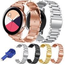 Bracelet de bande dacier inoxydable 316L pour la montre de galaxie de Samsung Bracelet actif de lien en métal de Bracelet pour la montre de galaxie outil de la bande w de 42mm