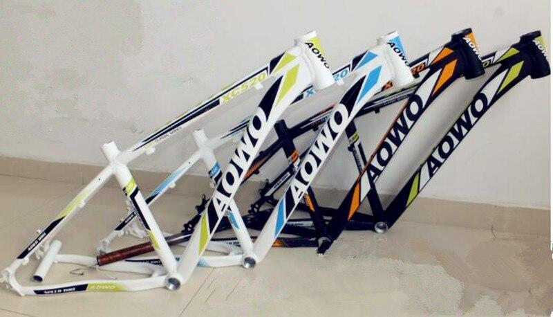 2019 nuevo marco de bicicleta aleación de aluminio ligero bicicleta mtb marco 26er 17 cónico Cuadro de bicicleta de montaña