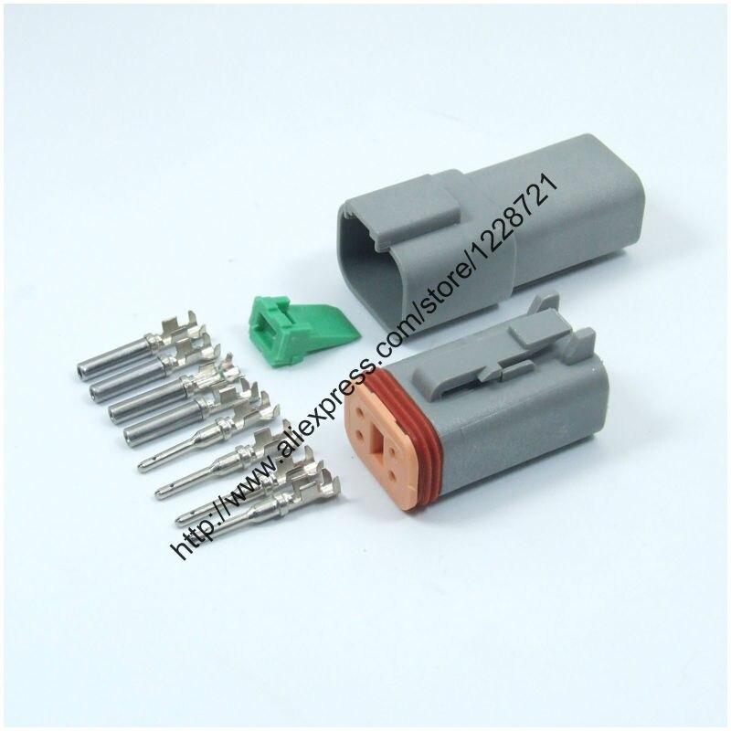 Набор из 1 комплекта, DT06-4S, 4 штырька, гнездовой Электрический провод, разъем Amphenol Deutsch DT, улучшенное уплотнение, водонепроницаемый