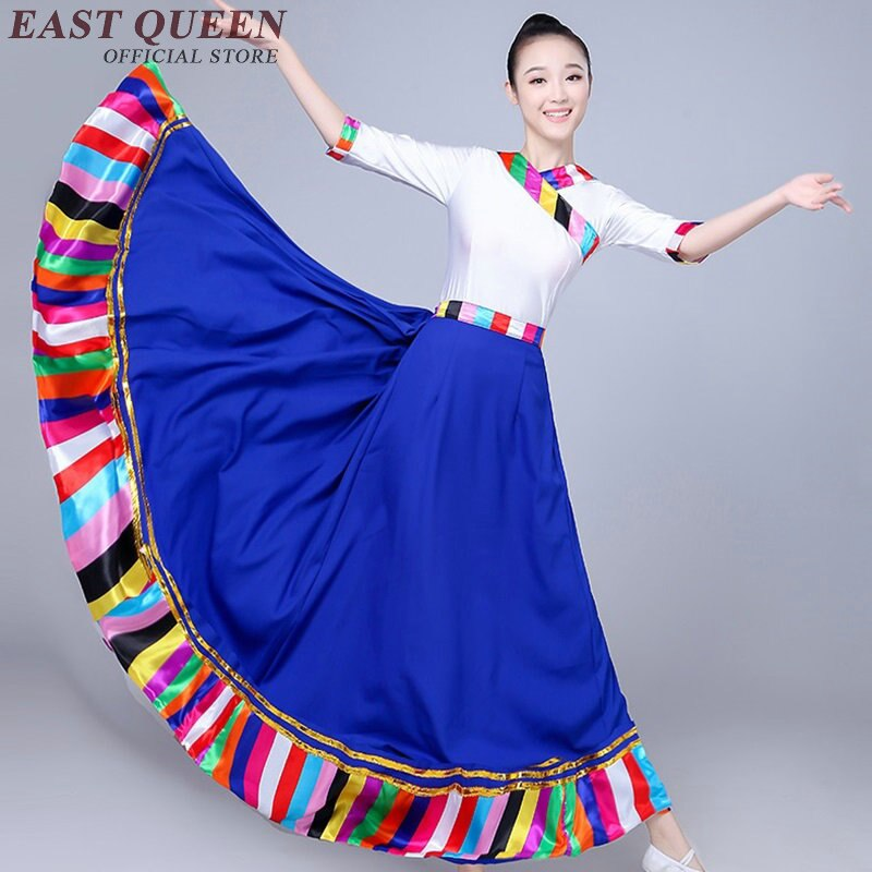 Traje hanfu clásico de danza folklórico de China para mujeres ropa tradicional china antigua hanfu KK1908 H