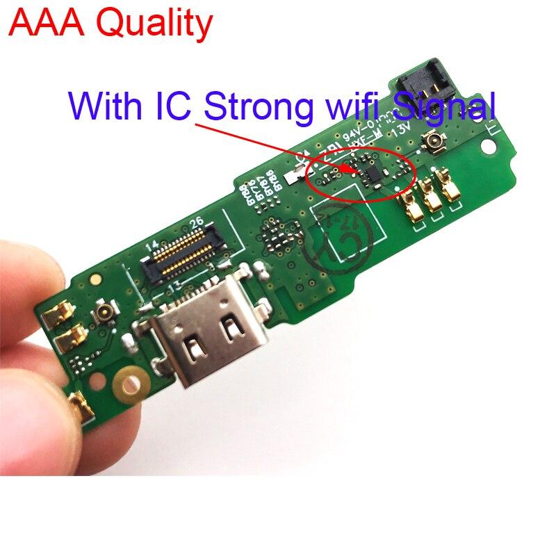 10 adet/grup, mikro Dock şarj şarj konektörü PCB kartı USB şarj portu Flex kablo SONY Xperia için XA1 Ultra G3226