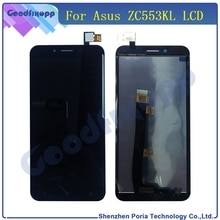 Mobile Phone LCDs For Asus ZenFone 3 Max ZC553KL LCD Display Touch Screen Digitizer Assembly Replace