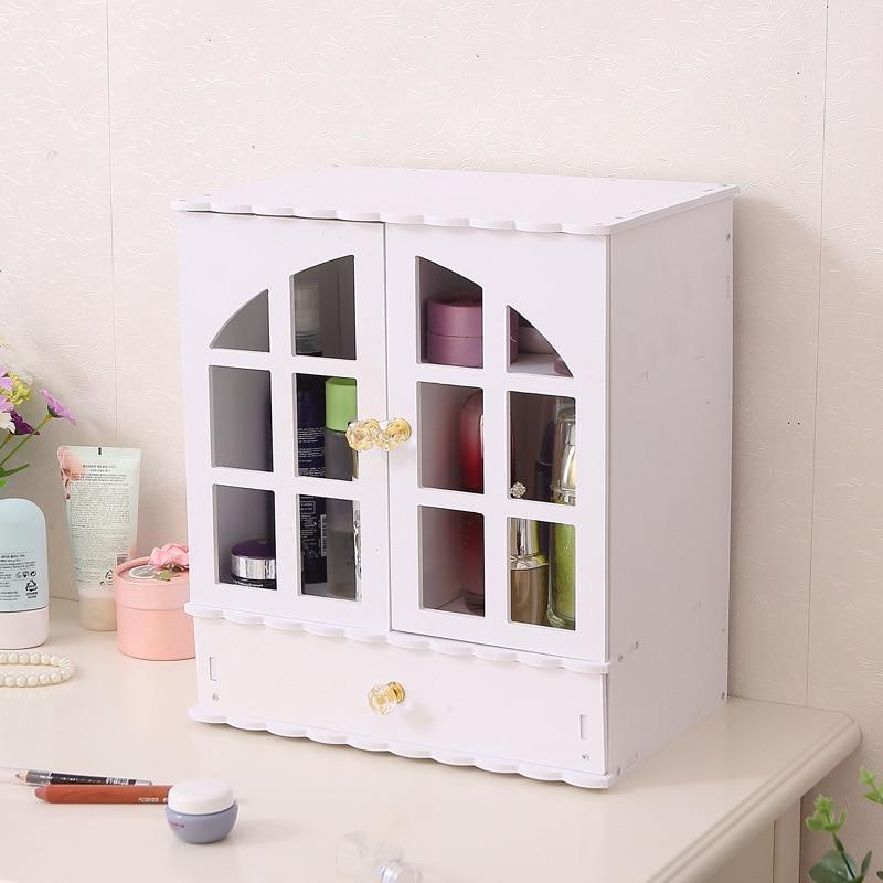 خزانة حائط ، خزانة حمام معلقة ، خزانة دواء ، خشبي ، أبيض