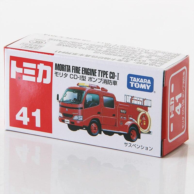 Takara Tomy Tomica Morita fuego tipo de motor CD-I de fundición modelo de vehículo de juguete coche nuevo #41