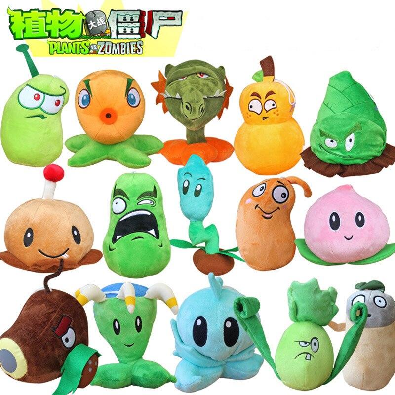 21 styl rośliny kontra zombie 2 pluszowe zabawki 13-20cm rośliny kontra zombie rośliny z pvz pluszowe miękka zabawka lalki dla dzieci prezenty dla dzieci