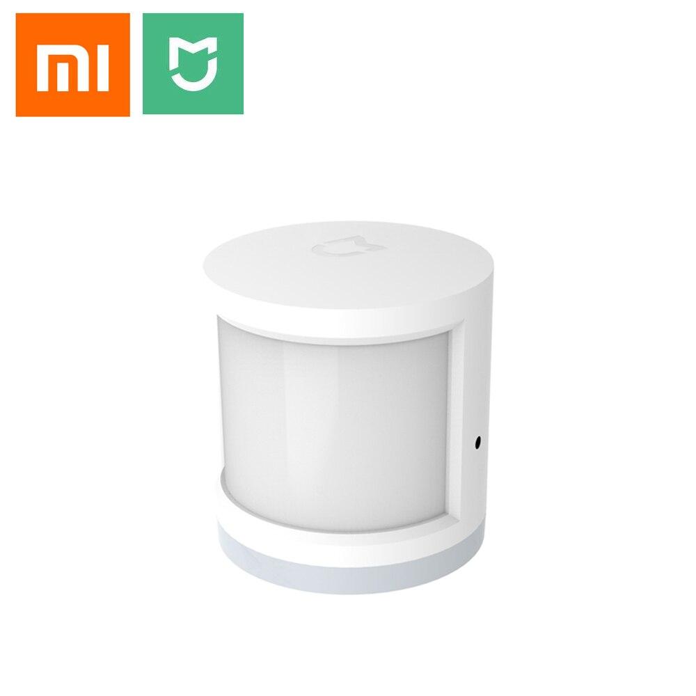 Xiaomi sensor de corpo humano original, casa inteligente super prática acessórios do dispositivo inteligente