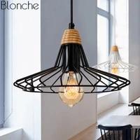 Lampe Led industrielle suspendue au style americain  Vintage  design Cage  luminaire decoratif dinterieur  ideal pour un Loft  une salle a manger  une chambre a coucher  E27