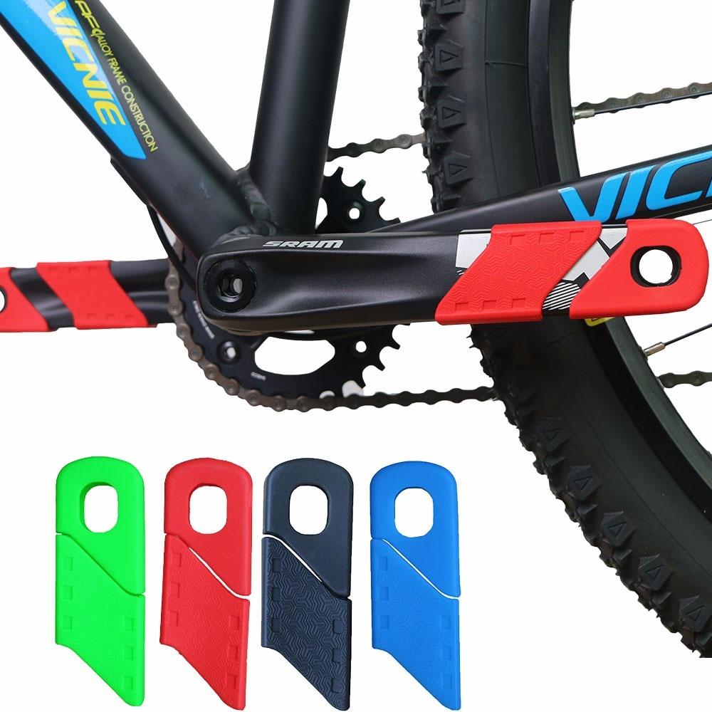 Защитный чехол для велосипеда MTB шатун для горного велосипеда силиконовый защитный колпачок для велосипедных сапог Пыленепроницаемый Чехол для велосипедной цепи