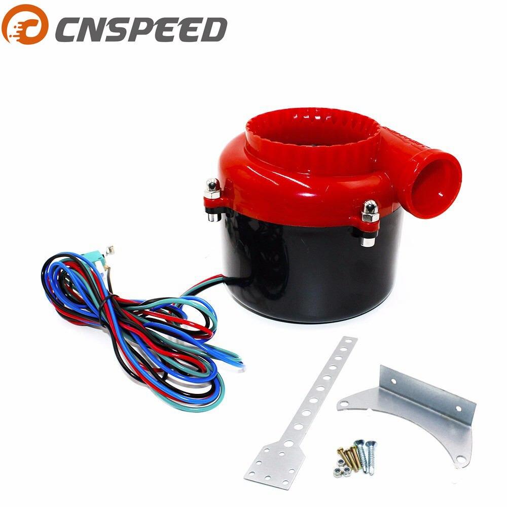 CNSPEED electrónica Universal turbo coche falso volquete Válvula de válvula de descarga turbo sonido Turbo eléctrico golpe de sonido analógico BOV
