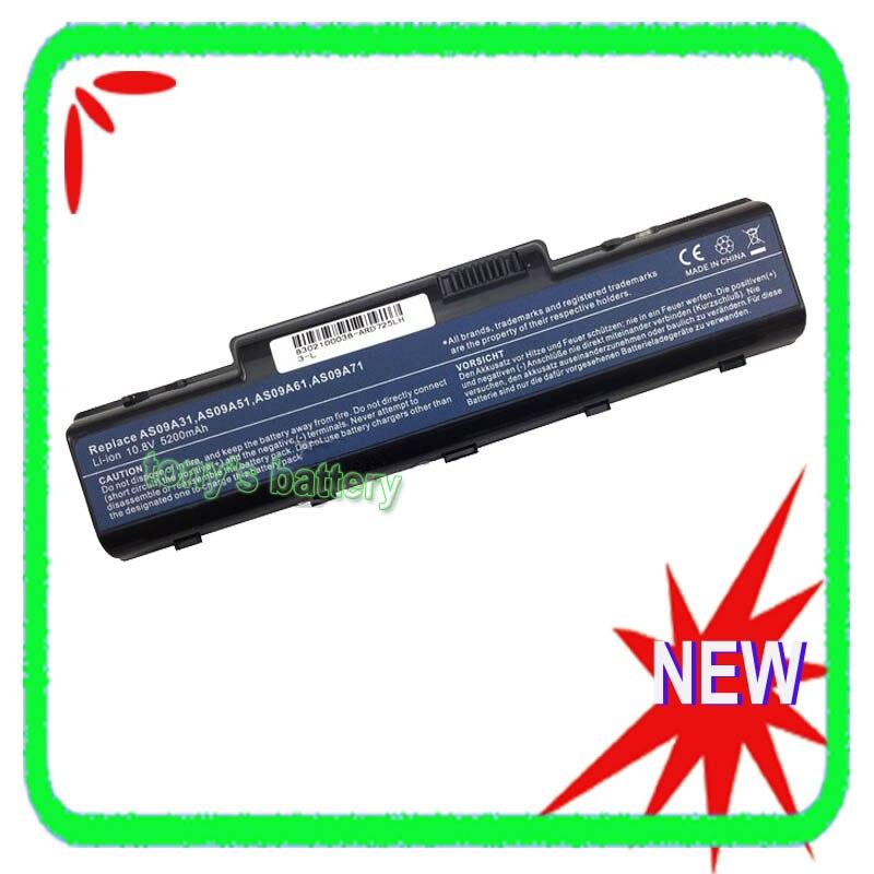 Аккумулятор 5200 мАч для Acer EMachines G430 G525 G625 G630 E430 E625 E630 AS09A31 Packard Bell EasyNote TJ61 TJ62 TJ63 TJ64