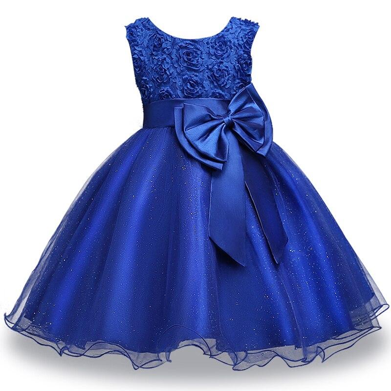 Princesa flor menina vestido de verão tutu casamento vestidos de festa de aniversário para meninas traje das crianças 2-10 y roupas da menina do bebê