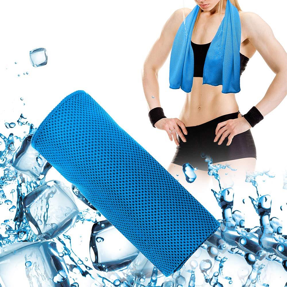 De Toalla de microfibra Toalla de secado rápido-súper absorbentes Ultra compacto para deportes de gimnasio, yoga, pilates viajes de Camping