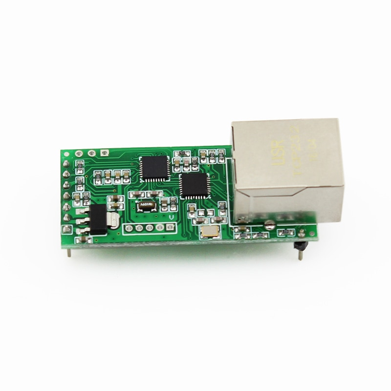 Маленький серийный Ethernet конвертер USRIOT USR-TCP232-T2, Серийный Модуль UART ttl в Ethernet, модуль TCPIP с поддержкой DHCP/DNS с HTTPD