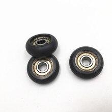 Funssor1pc Delrin Kossel 3D imprimante pièces à faible bruit 608zz roulement POM enduit roue à rouleaux simple 8*32*12mm roulement à rouleaux