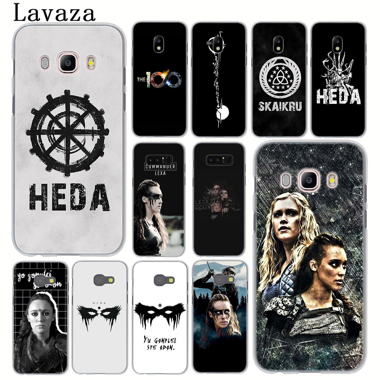 Lavaza 100 Heda Lexa TV mostrar teléfono funda para Samsung Galaxy J8 J7 Duo J6 J5 J4 Plus 2018, 2017 de 2016 J2 J3 UE nos primer 2015