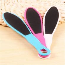 1pc Double-Side Foot Rasp File Callus Pedicure Matte Exfoliating Dead Skin Rubbing Feet Rub Feet Foot Massage Board Color Random