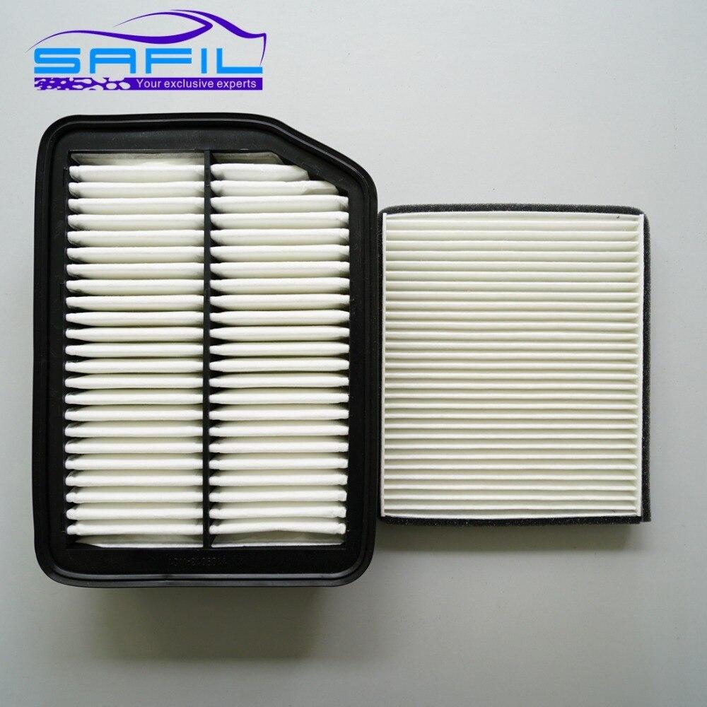 Conjunto de filtros para changan CS35 aire + aire de cabina condición de 1109013-W01 8100103-W01