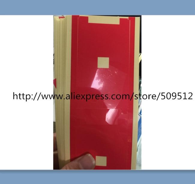 200 Uds pegatina de película roja de retroiluminación para iPhone 4 4S 5 5c 5S 6 6s plus papel de retroiluminación película protectora de pantalla LCD resistente a los arañazos