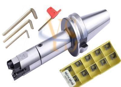 BT40-LBK3-125L-M16 أربور RBH 32-42 مللي متر عالية الدقة التوأم بت الخام مملة رئيس تستخدم ل ثقوب عميقة 10 قطعة CCMT060204 إدراج