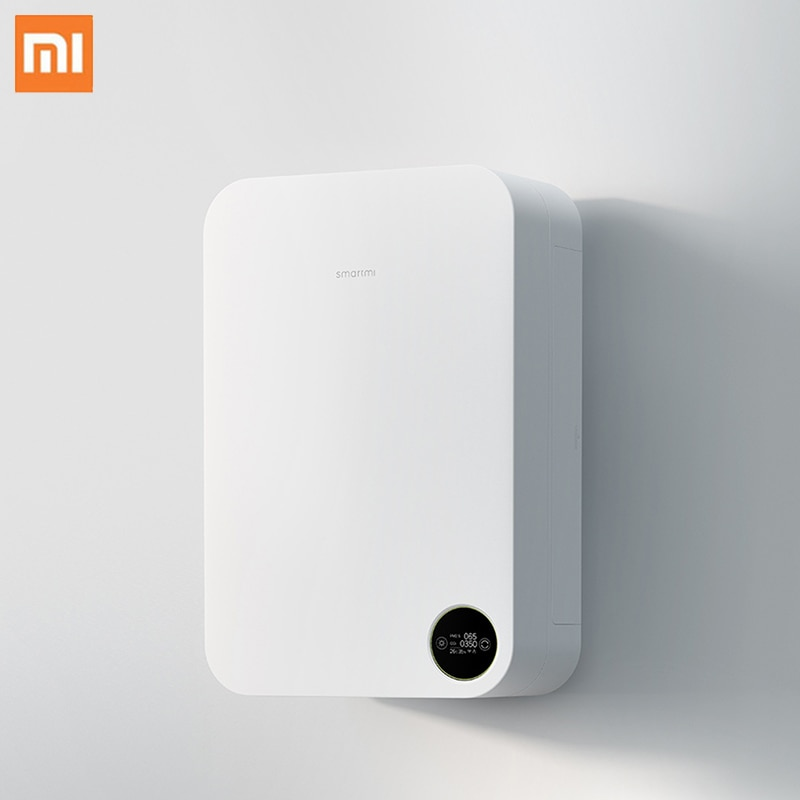 Xiaomi Purificador de Ar Montado Na Parede Casa Silenciosa Controle Inteligente de Suprimento de Oxigênio Purificador de Ar Fresco Purificador de Ar Mais Limpo