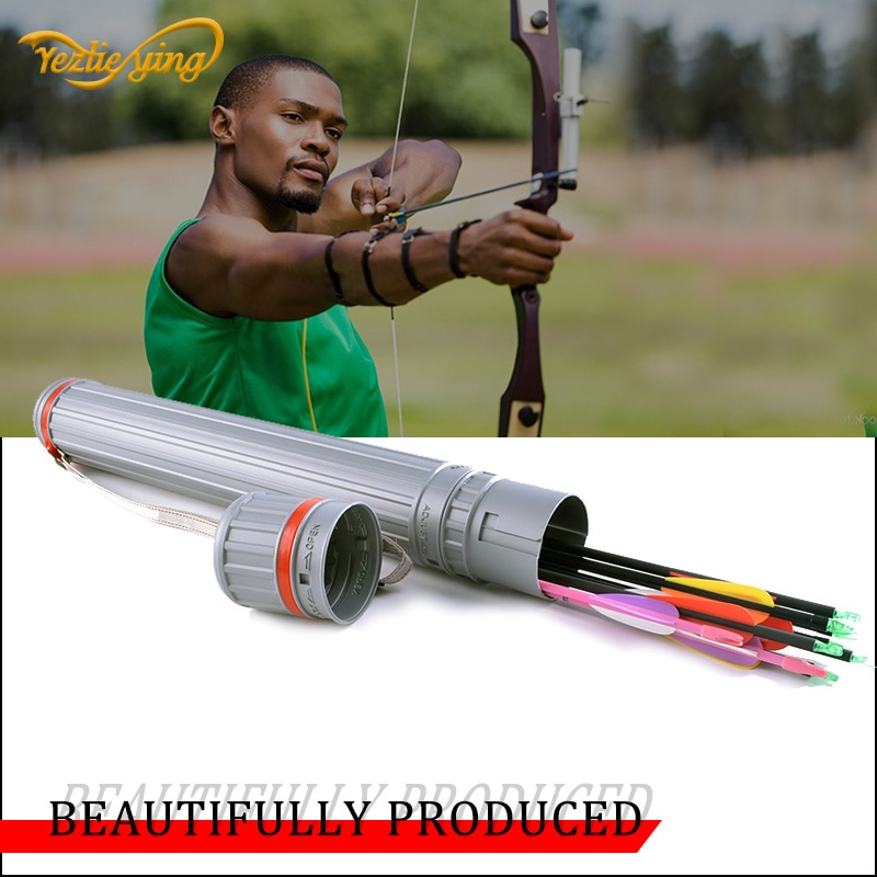 Aljaba ajustable PE rango de ajuste 63 cm-102 cm arco y flecha compuesto/arco recurvo bolsa de caza aljaba