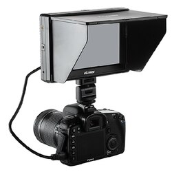 Viltrox 7 DC-70 II Clip-on Color Display TFT HD LCD Monitor HDMI AV Entrada 1024*600 para DSLR Camera Camcorder