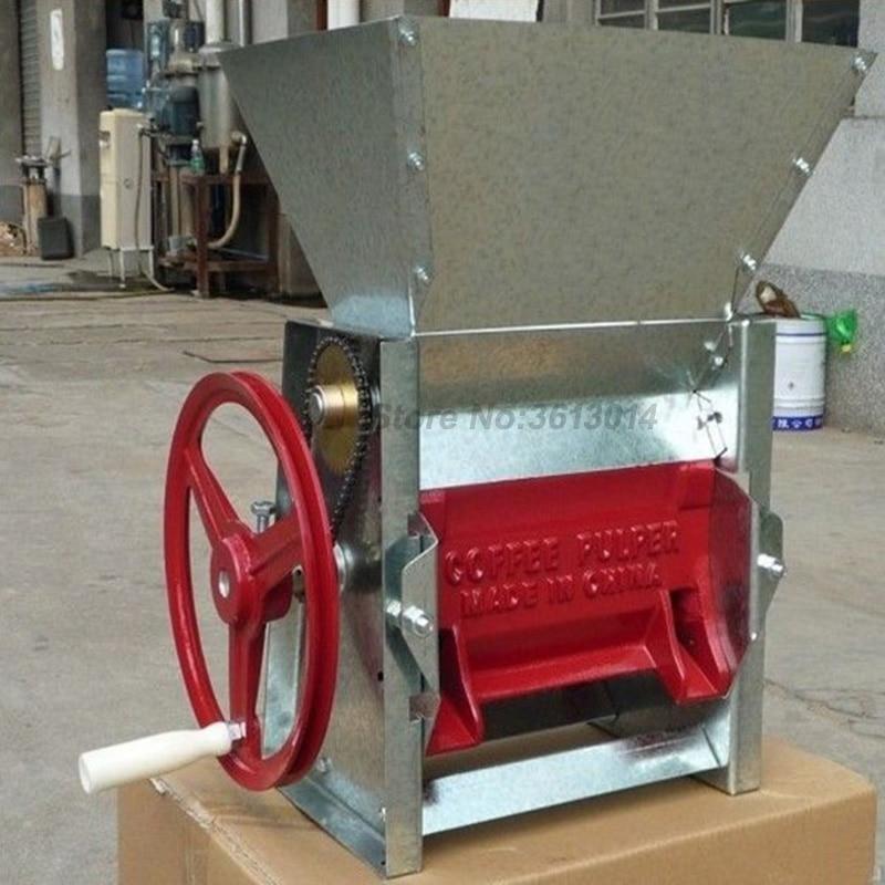 Commercial manual coffee bean sheller peeling machine coffee processing equipment
