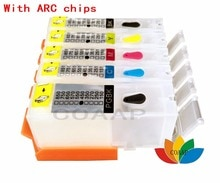 5 цветов заправка PGI 450 CLI 451 пустой картридж для Canon PIXMA IP7240 MG5440 MX724 MX922 IX6540 IX6840
