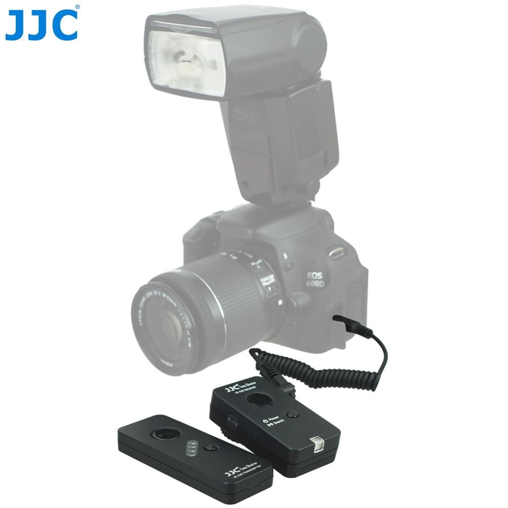 JJC 100 מטרים מרחק 16 מיליון ערוץ 2.4 ghz RF אלחוטי מצלמה שלט רחוק עבור Samsung NX300M/NX200/ NXF1/NX1/NX2000