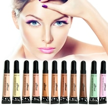 Popfeel 12 cores maquiagem corretivo líquido tubo contorno corretivo rosto olho escuro círculo capa creme cosméticos presente chritmas tslm2