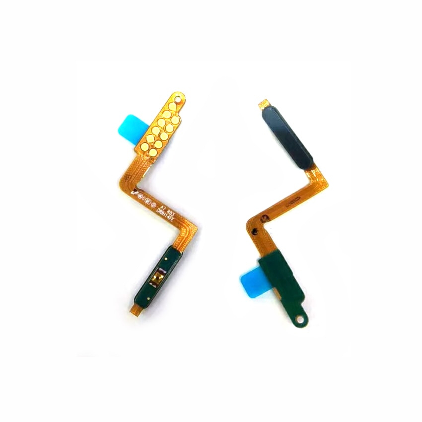 1 Uds Sensor táctil de huellas dactilares interruptor de encendido apagado botón en el lateral tecla cable FLEX para Samsung A7 2018 A750