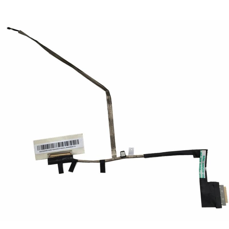 WZSM Wholesale New LCD Flex Video Cable for Acer Aspire one 756 V5-171 V5-131 laptop cable P/N DC02001KE10