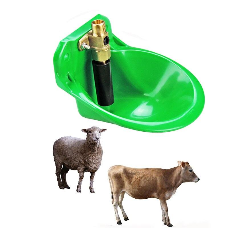2 uds Animal bebedores ganado ovejas de agua automática de caballo cerdo perro Animal de granja alimentadores de ganado y ovejas y equipos