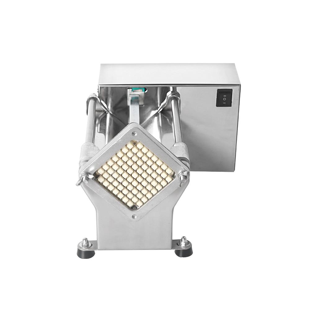 Cortador eléctrico para tomates y verduras de acero inoxidable, cortador profesional para frutas y verduras, cortador de patatas fritas, accesorio de cocina