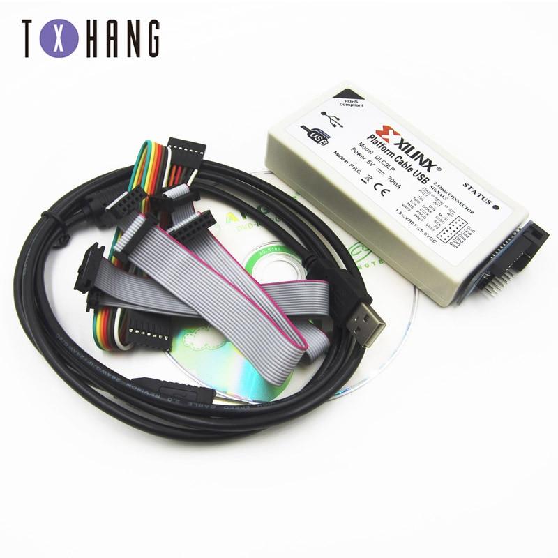 Xilinx plataforma Cable USB descargar Cable Jtag programador para FPGA CPLD de apoyo/XP/WIN7/WIN8/Linux