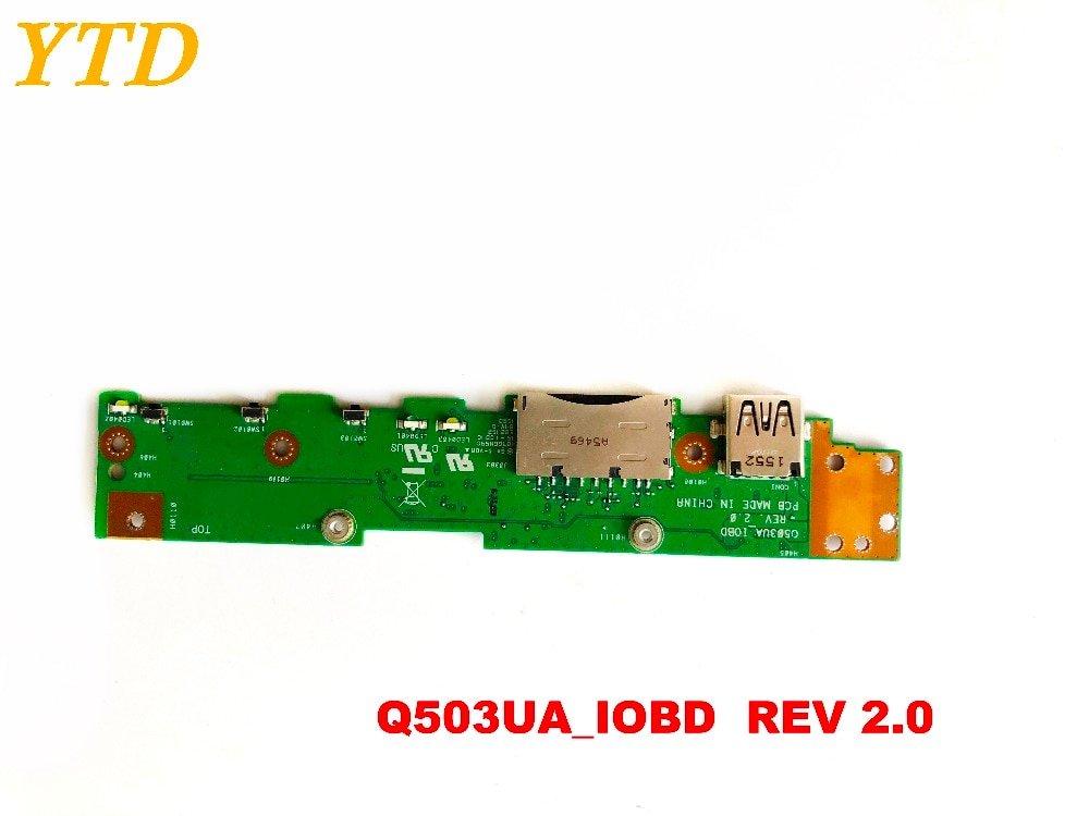 Placa de interruptor de botón de encendido Original para ASUS Q503UA, placa...