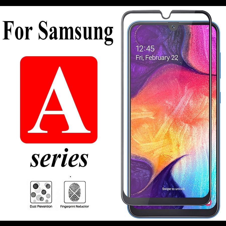 Filme Protetor de tela Galáxia A30 A50 A70 Para samsung um 30 50 70 vidro Temperado Samsung samsung galaxy verre trempe ScreenProt
