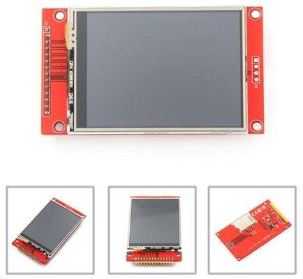 Módulo de tft lcd de 2.8 polegadas com a movimentação ic 240*320 do painel de toque ili9341