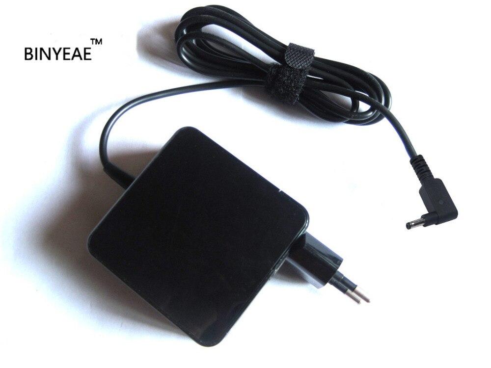 Cargador de batería del adaptador de la CA de 19V 2.37A 45w para Asus TP301 TP301U TP301UA6200