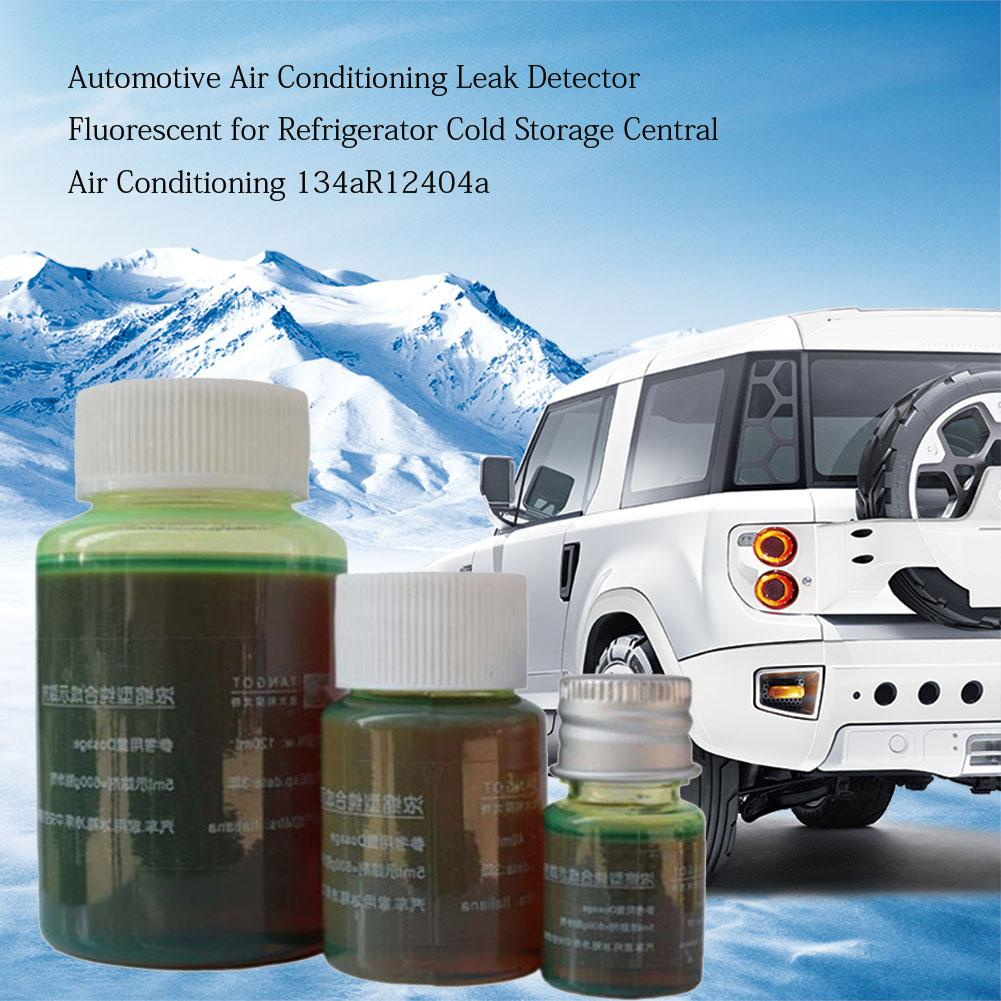 Automobile Fluorescent Leak Detection Tool Auto Air Conditioning R134a Refrigerant Gas A/C Leak Test Detector Repair Kit UV Dye