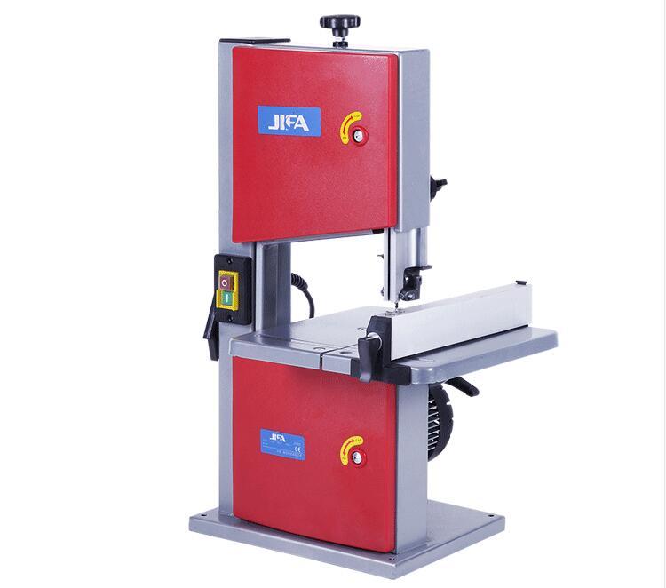 Máquina de aserrado de banda de carpintería multifunción modelo JFB-08, 250 W DIY Hobby modelo artesanías corte sierra de mesa de carpintería jig Sierra