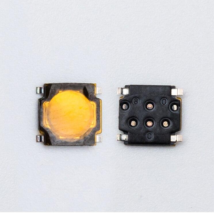 Микропереключатель для мыши logitech G700 G500 M950 M705, 2 шт./упак. SMD, Средняя кнопка 4,8*4,8*0,8 мм